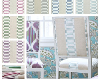 Thibaut Anna French Japonic Stripe Fabric By The Yard (other colors available)