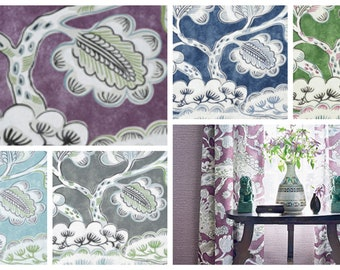 Thibaut Anna French Tree House Fabric By The Yard (other colors available)