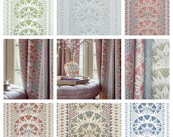 Custom Designer Thibaut Anna French Cairo Drapes You pick the fabric and style - Lined