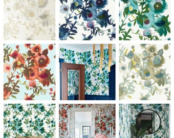 Designer Thibaut Open Spaces Wallpaper By The Package (Double roll)  (other colors available)