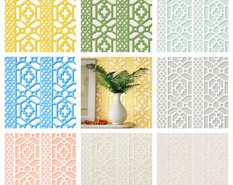 F. Schumacher Zanzibar Wallpaper (Packaged in double rolls)  (other colors available)