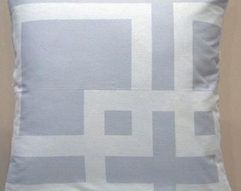 Mojo Modern Silver Pillow cover - Ready to Ship