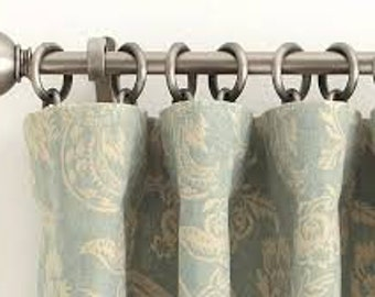 Back Tab or Plain Ring top Style Drape Addition