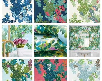 Thibaut Central Park Wallpaper (Packaged in Double rolls) (other colors available)