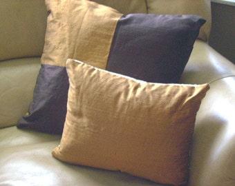 Loft Silk Dupioni Pillow Cover - ready to ship