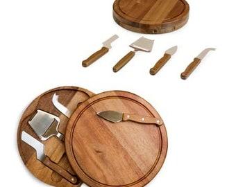 Sonoma Wood Cheese Board Set