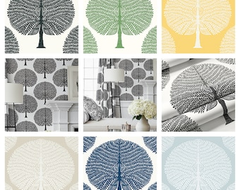 Designer Thibaut Mulberry Tree Wallpaper (Packaged in double rolls)  (other colors available)