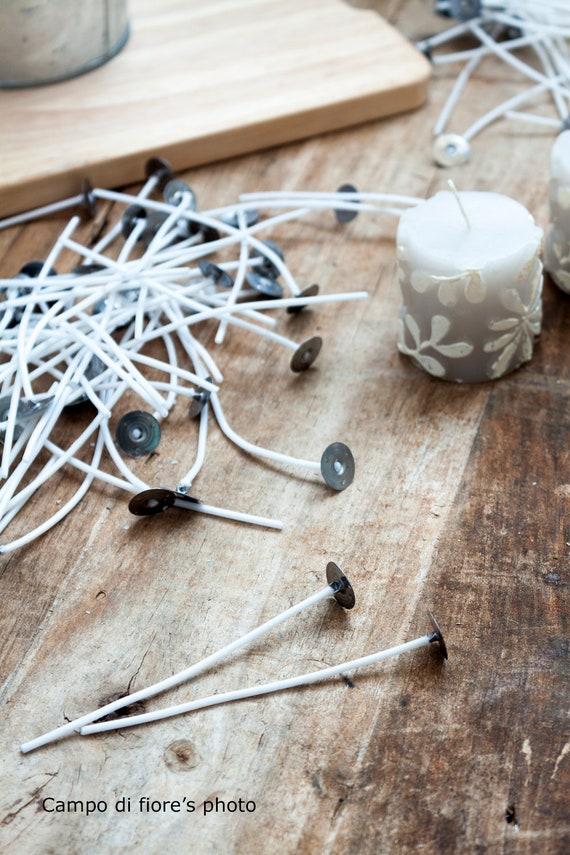 Teelichtdochte Runddocht Votiv Kerzen  Basteln 100 /% Baumwolle Teelichtdocht