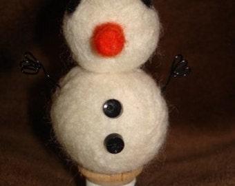 Mini Snowman Spoolie