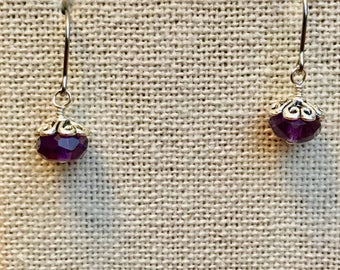 Simply Amethysts - earrings