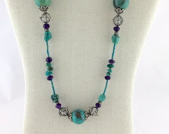 Turquoise Musings Necklace