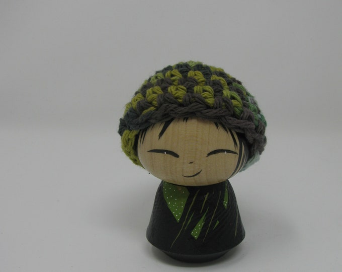 Green With hat