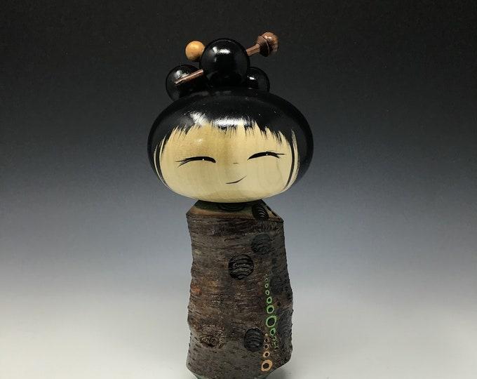 Black Birch Kokeshi
