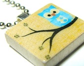 5 for 13 -  SCRABBLE Tile PENDANTS - Also Includes a TUTORIAL on how to make them and over 70 GRAPHIC IMAGES