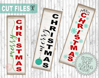 merry christmas vertical svg, vertical sign svg, cute christmas svg, porch sign svg, front door sign svg, cut files christmas, htv designs