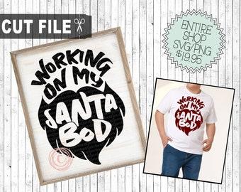 working on my santa bod svg, mens christmas svg, mens xmas shirt svg, mens xmas gift svg,  mens tshirt designs christmas, funny xmas cricut