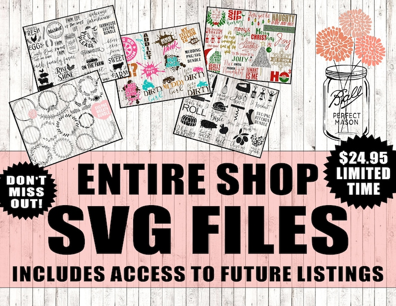 all files in shop huge svg bundle, cut file bundle, svg quote bundle, svg  bundle sayings, funny cutting files, silhouette cricut svg designs