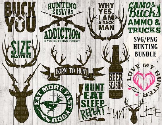 Hunting Svg Bundle Deer Svg Buck Svg Antler Svg Hunting Etsy