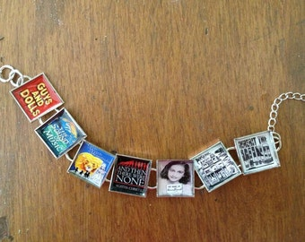 Broadway Plays and/or Musical Custom Bracelet--Your Choice of Your Favorites!  FREE USA shipping
