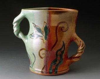Flower Vase, Dancing Ceramic Vase, Handcrafted Stoneware Vase, Home Decor, Vases, Fine Art Ceramics