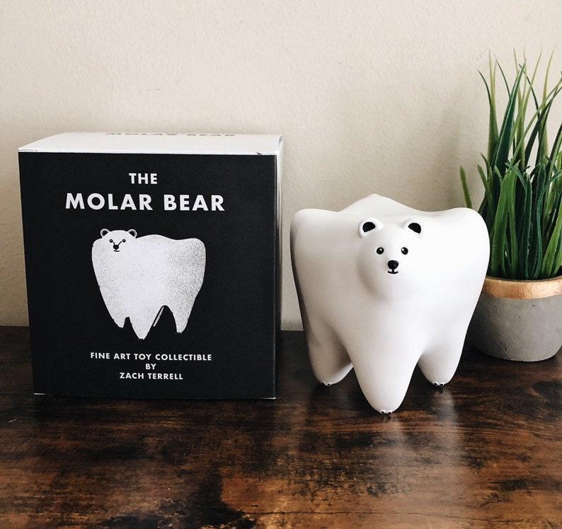 The Molar Bear Collectible Figure image 0