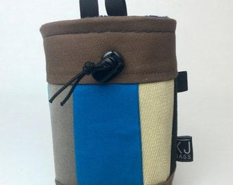 Handmade Canvas Patchwork Chalk Bag