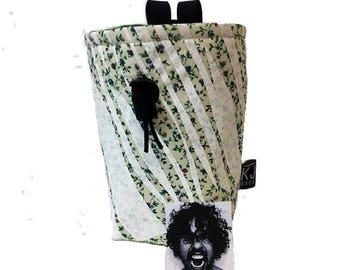 Artist Series Chalk Bag - Floral w Tiger Stripe