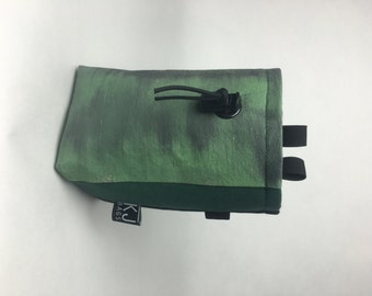 Hand-Painted Canvas Chalk Bag