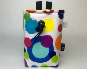 Bright Color Splotch Chalk Bag