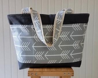 Teacher Gifts-Teacher Bag - Teacher Appreciation Gift - Tote Bag with Pockets -Teacher Tote Bag-Teacher Tote - Gifts for Teachers-Canvas Bag