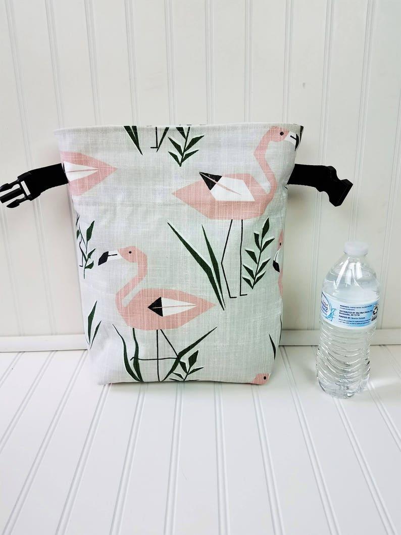 Lunch Bag  Flamingo Bag  Lunch Bag for Women  Flamingo image 0