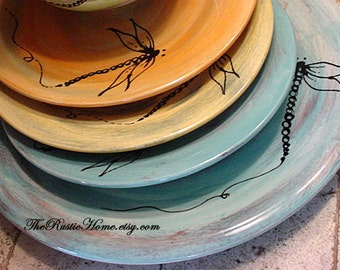 Design your own dinner plates choose colors and design