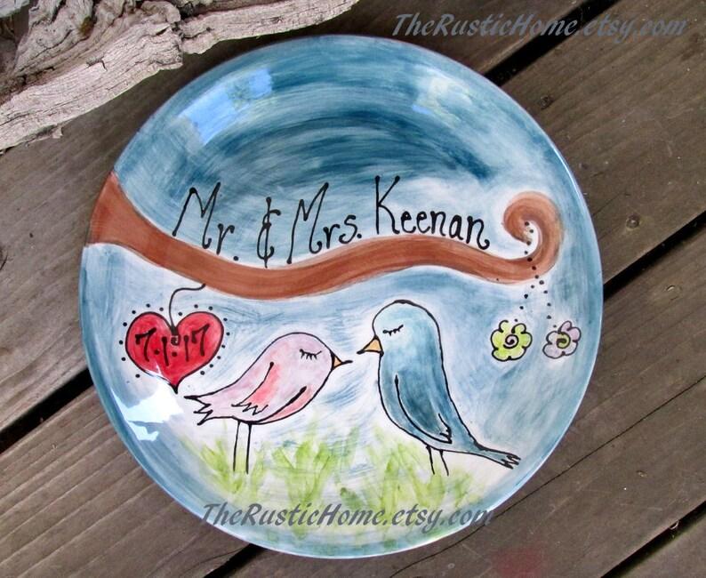 Custom family adoption plate for Alison