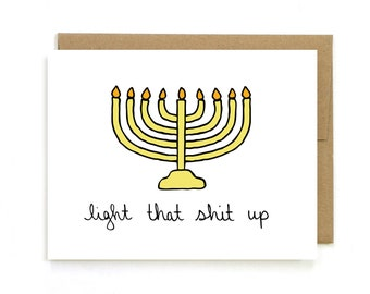 photograph relating to Free Printable Hanukkah Cards identified as Hanukkah Playing cards Etsy