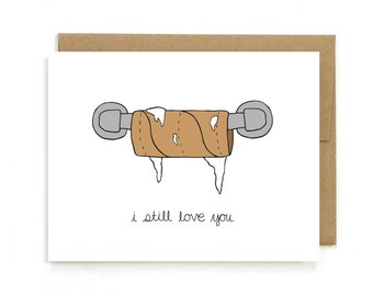 I Miss You Card I Miss You When Youre Gone Etsy