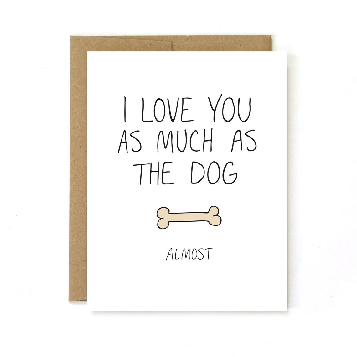Dog lover valentine