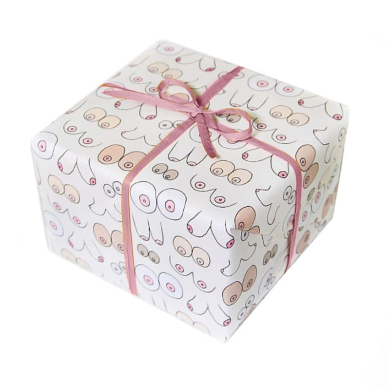 Wrapping Paper  Boobs  Mature image 0