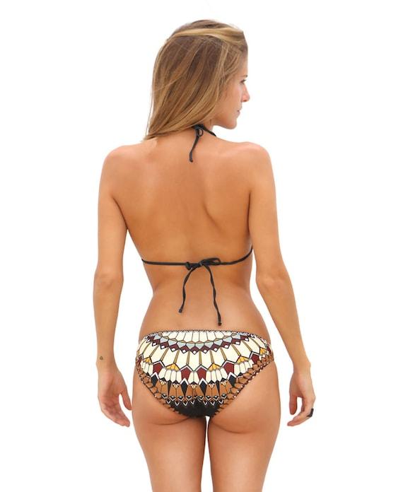 7f253c3b31842 Women Swimsuit Bottoms Brazilian Bikini Bottoms Cheeky