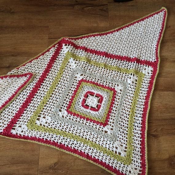 Crochet Shawl Pattern Pdf Softly Falling Snow Lacy Crochet Etsy