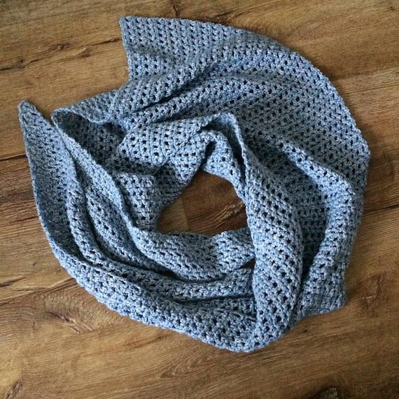 Easy Crochet Shawl Pattern Waiting Shawl Beginner Friendly Etsy