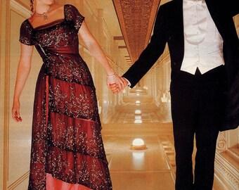 Rose Titanic Dress Etsy