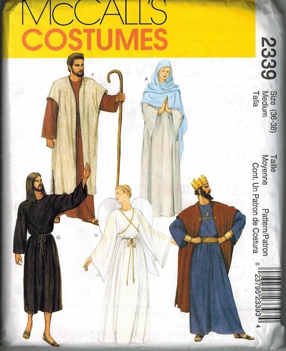 McCalls 2339 Size Medium 36-38 Nativity Robe Sewing Pattern | Etsy