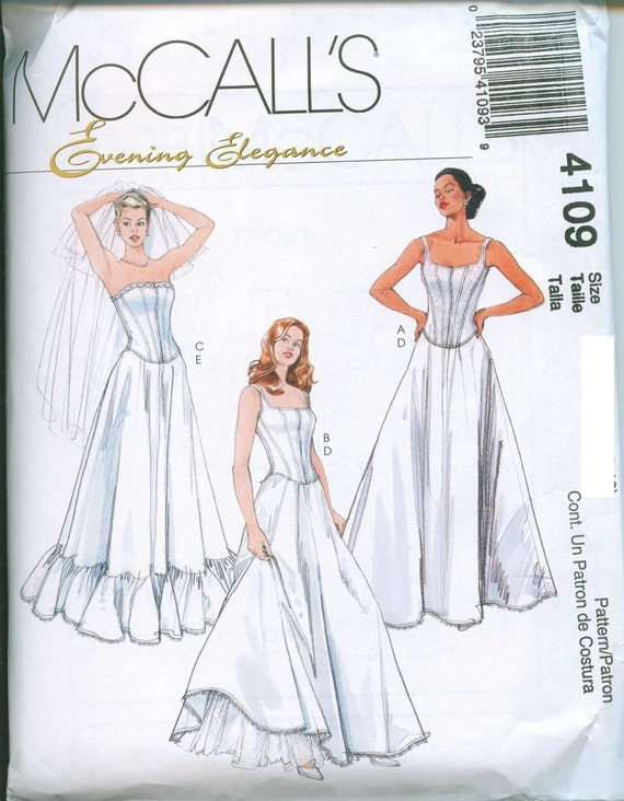 Sewing Pattern Corset Tops and Petticoats McCalls 4109 | Etsy
