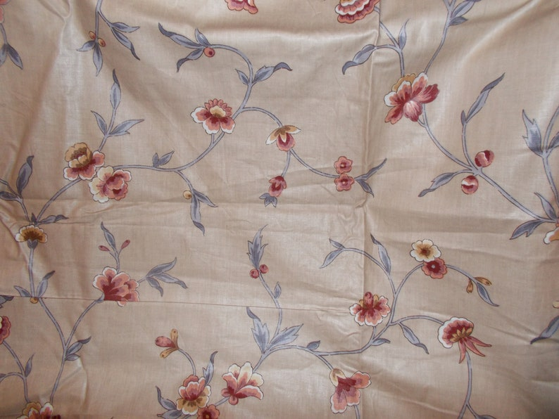 Waverly Fabric Charmant Fabric Floral French Collection image 0