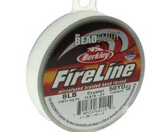 8lb Fireline Crystal Thread .007in/0.17mm 50 YRD