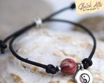 TierraCast Quick Kits: Mantra Bracelet. Balance.