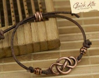 TierraCast Quick Kits: Infinity Bracelet.