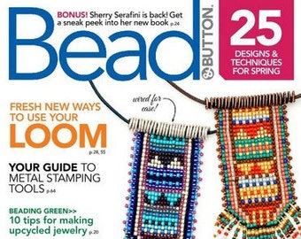 Bead and Button Magazine April 2018 (Issue #144)