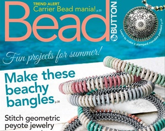 Bead and Button Magazine June 2018 (Issue #145)