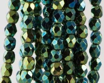 Color# T1-15-84 10 gram bag 150 Metallic Iris  GreenBrown Toho Charlotte